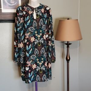 Xhileration Floral Dress NWOT Size Large